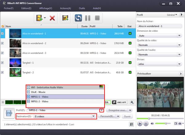 Xilisoft AVI MPEG Convertisseur