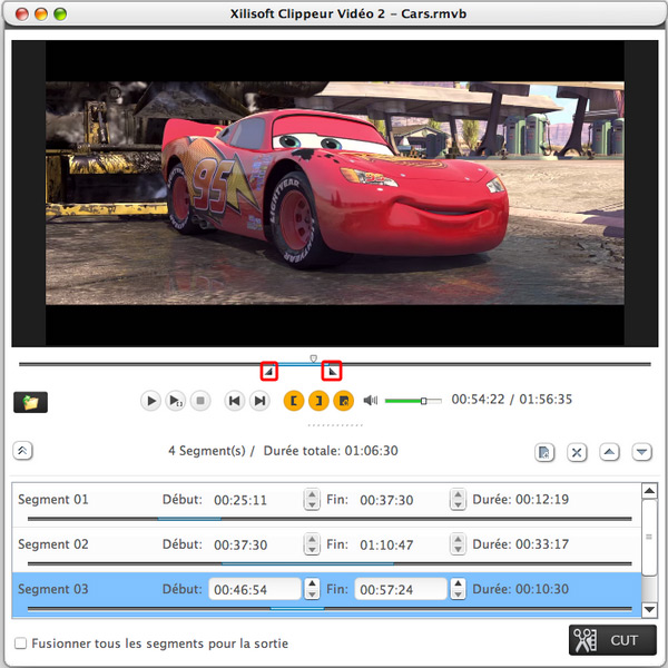 Xilisoft Clippeur Video pour Mac