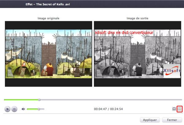 Xilisoft DivX en DVD Convertisseur pour Mac