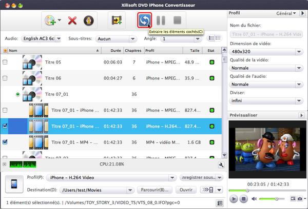 Xilisoft DVD iPhone Convertisseur pour Mac