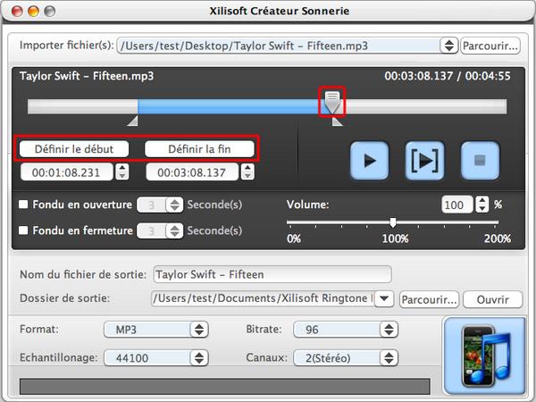 Xilisoft Créateur Sonnerie pour Mac