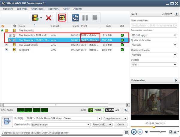 Xilisoft WMV 3GP Convertisseur