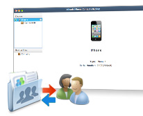 Restaurer les contacts iPhone avec Xilisoft Sauvegarde Contacts iPhone pour Mac