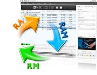 RM convertisseur, RM MPEG convertisseur